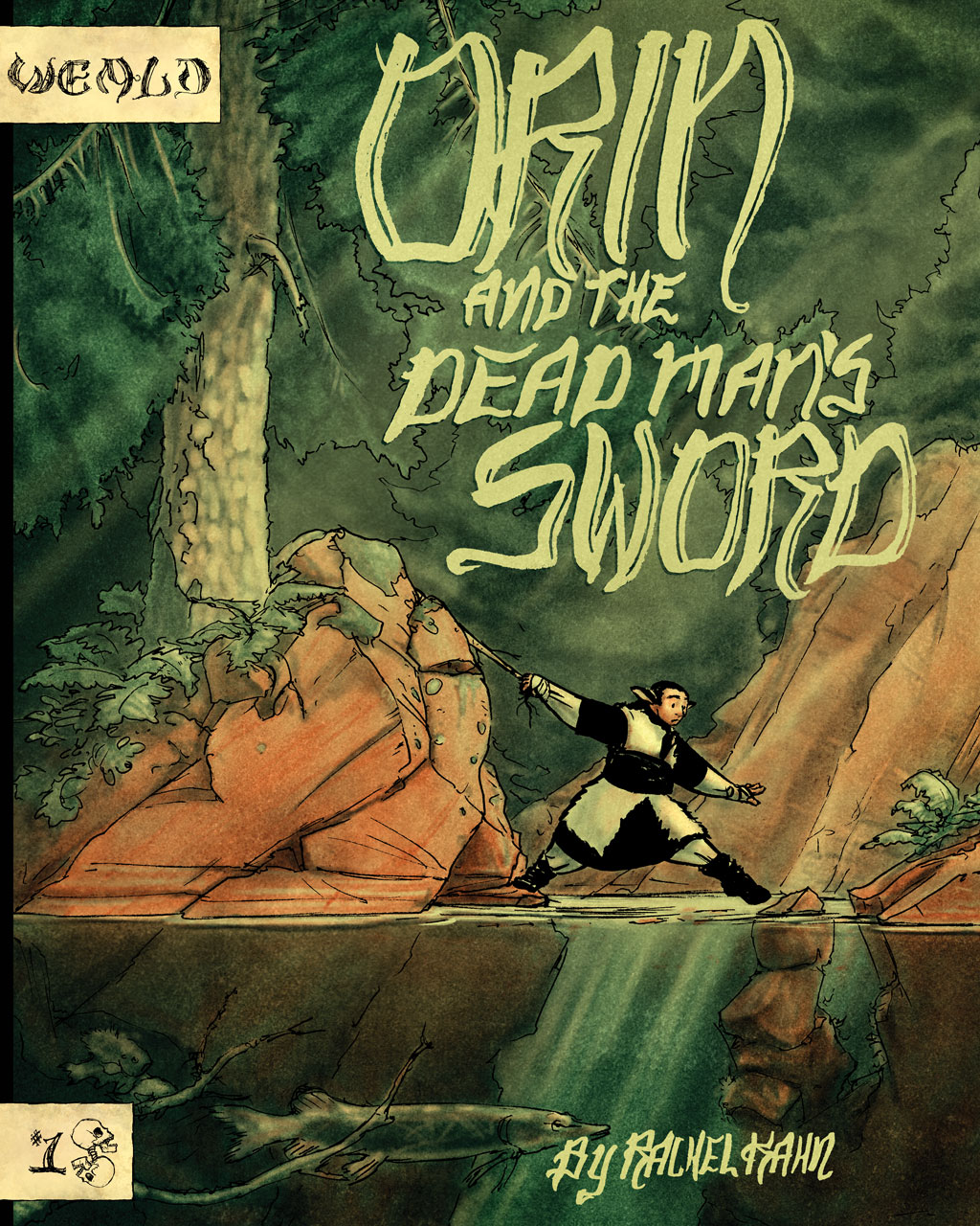 Orin and the Dead Man's Sword - Cover