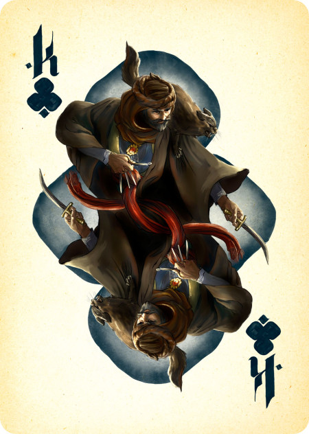 King of Clubs for Project Dark