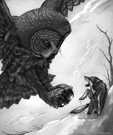 Illustration for One Winters Due, Worlds Without Master, Volume 1, Issue 2