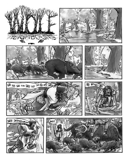 Wolf Neighbours pg 1