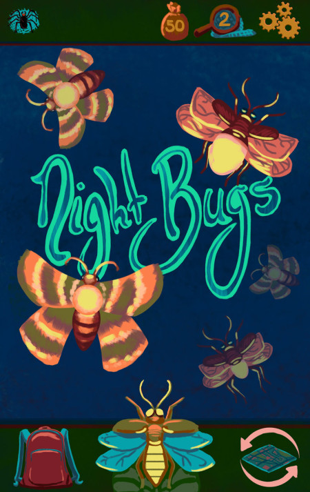 Night Bugs Title Screen Android Comp