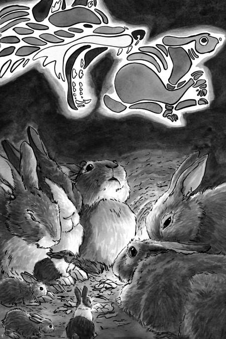 The Warren Full Page Illustration