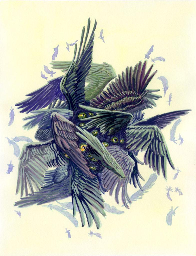 Colour Illustration - Cherubim