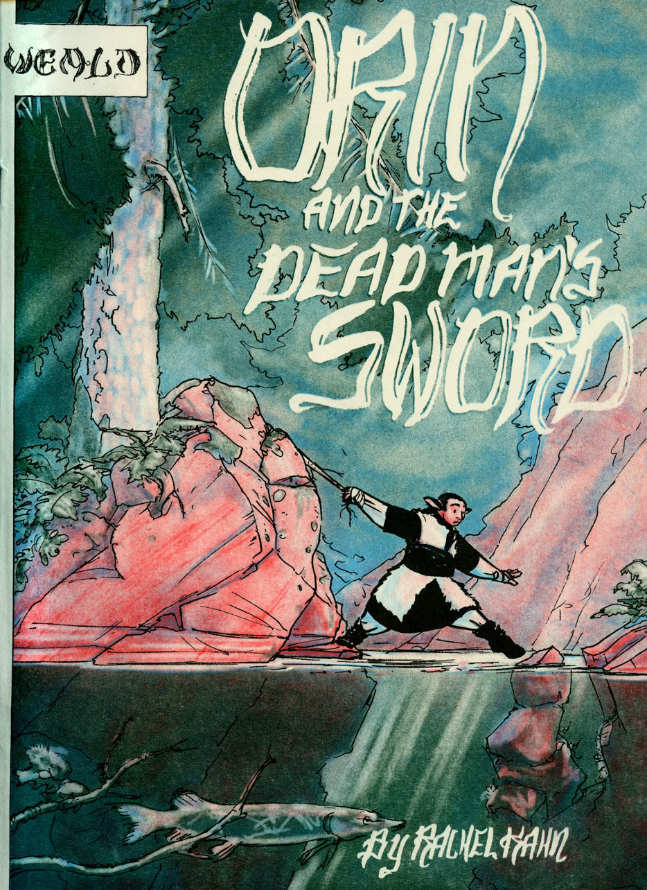 Orin and the Dead Man's Sword Cover