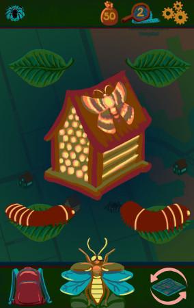 Night Bugs Nursery Screen