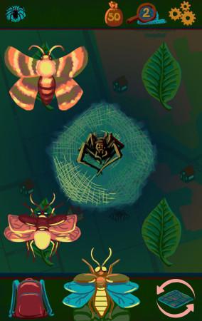 Night Bugs Battle Screen