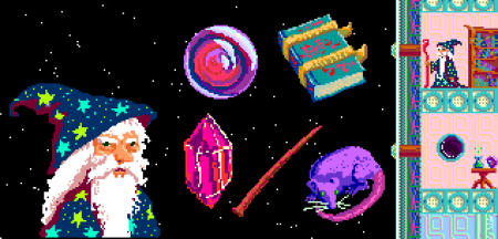 Space Wizard Items