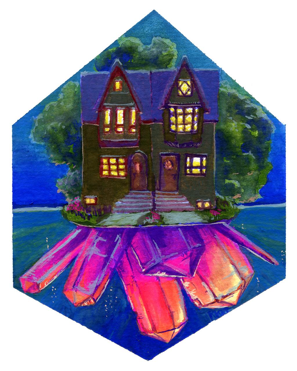 Neighbourhood Crystal Island