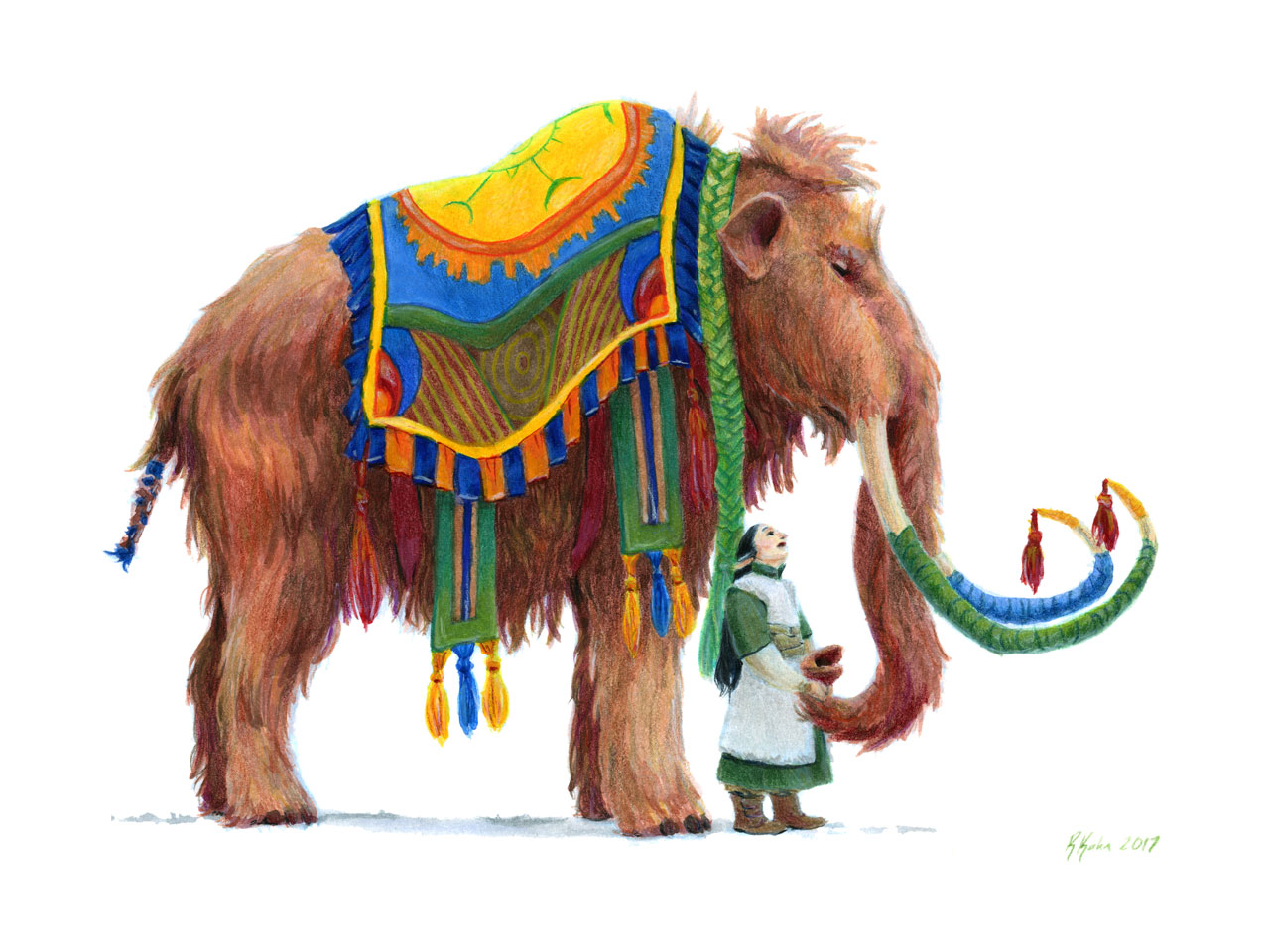 The Well-Dressed Woolly Mammoth