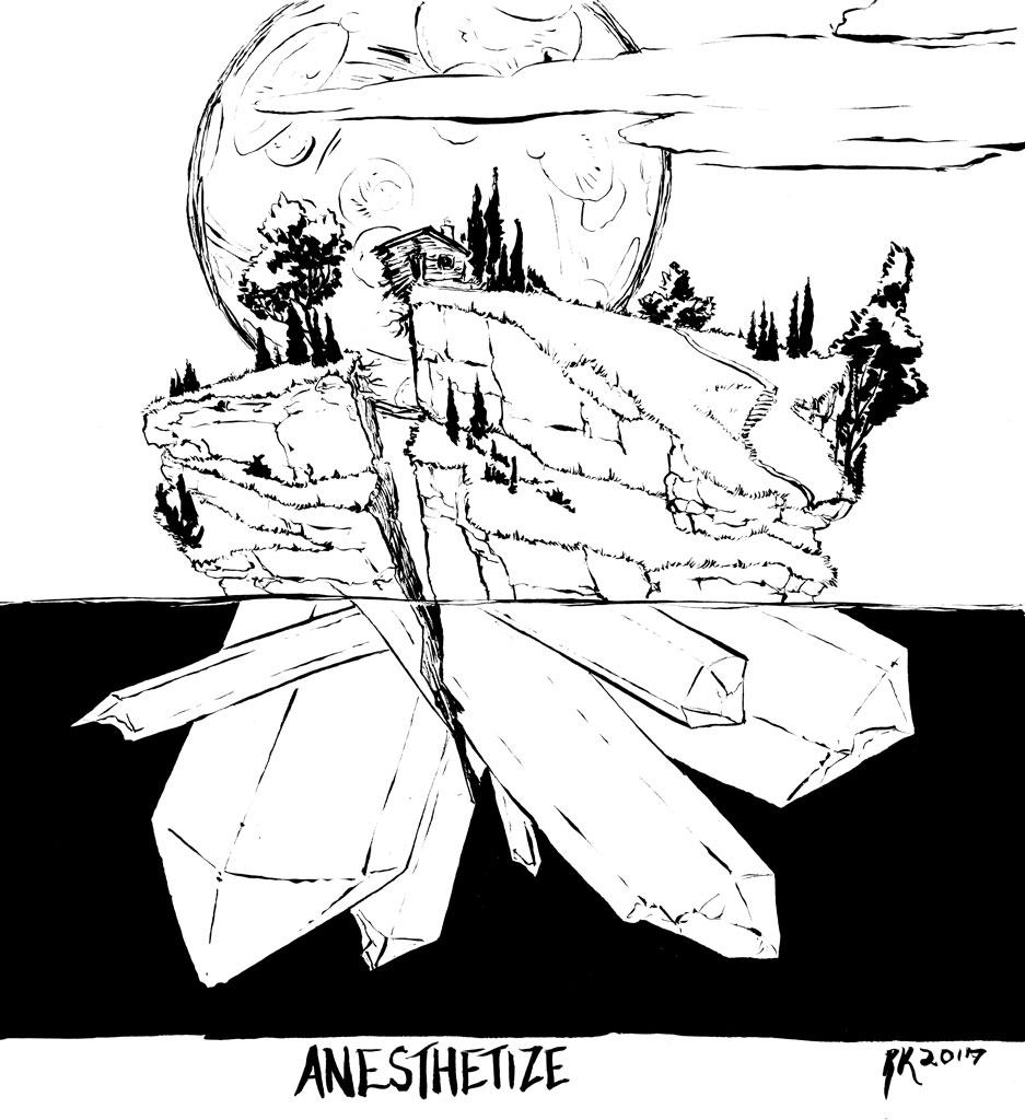 Anaesthetize Crystal Island